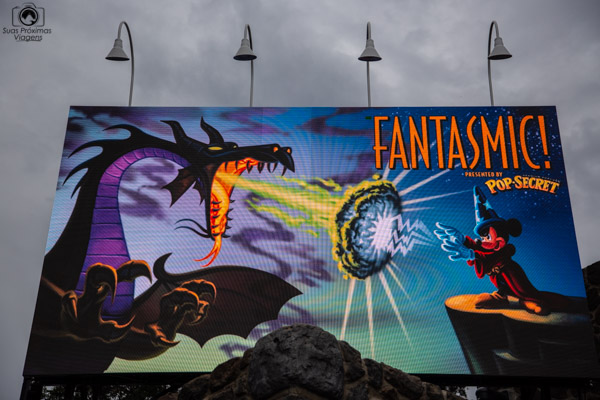 Fantasmic nos parques da Disney