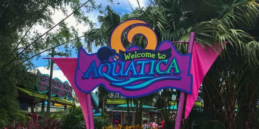 Entrada do Aquatica Orlando