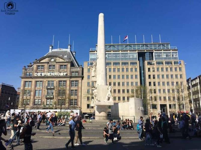 Praça Central nas melhores dicas de Amsterdam