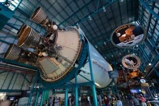 2o Estágio do Foguete Saturn V no Kennedy Space Center