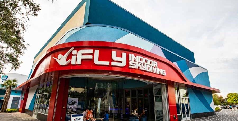 Entrada do iFly Orlando