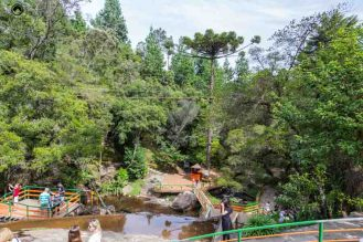 Imagem das Atividades ao redor da Ducha de Prata em Campos