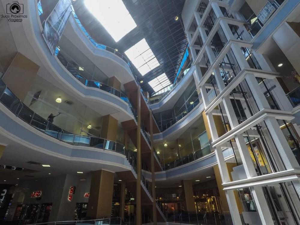 Vista do Interior do Shopping Paris, Ciudad del Este