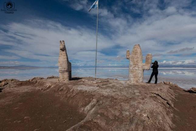 Imagens das Esculturas de Sal