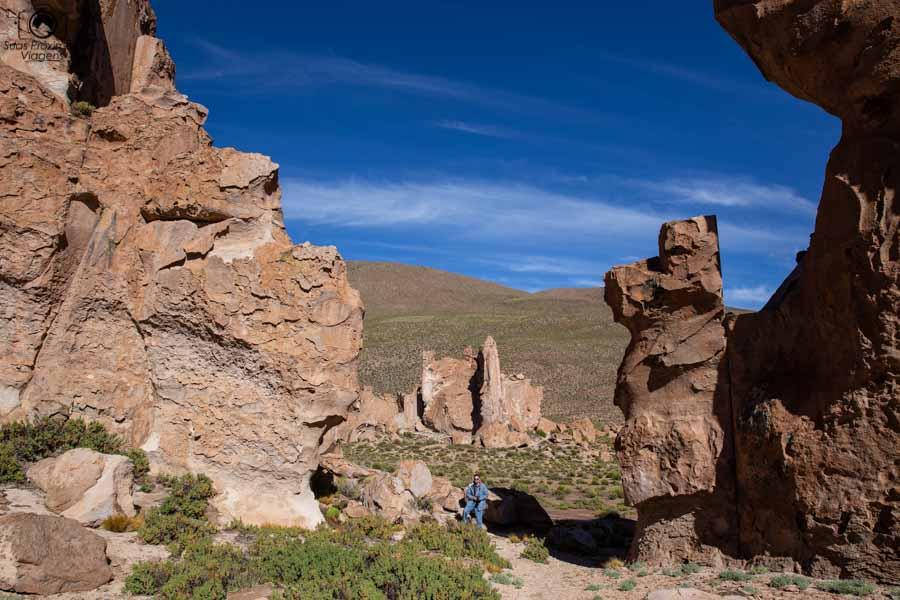 Foto das Formações da Itália Perdida no sul da Bolívia