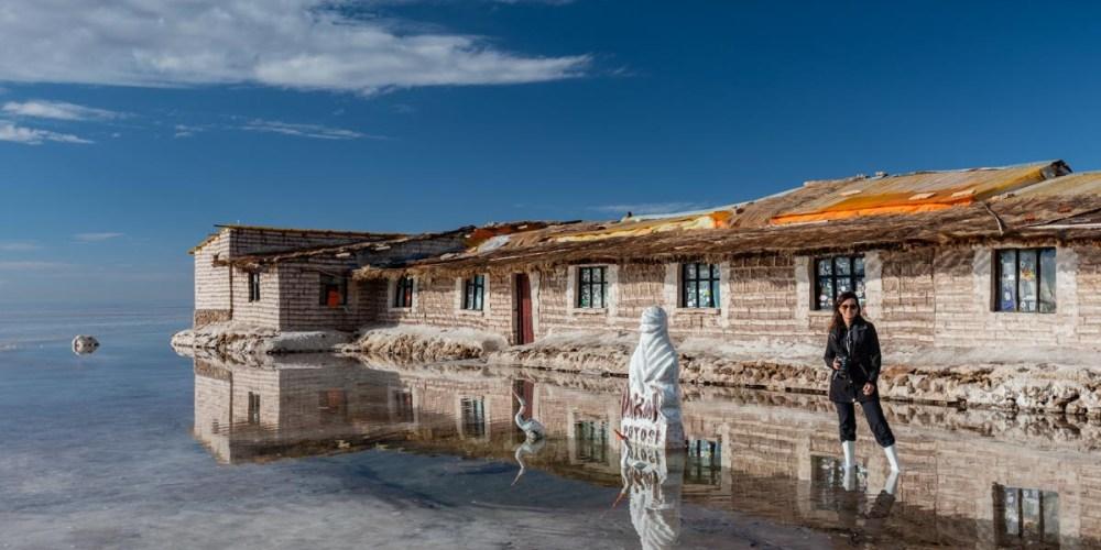 Imagem do Museu de Sal no Salar de Uyuni Bolivia