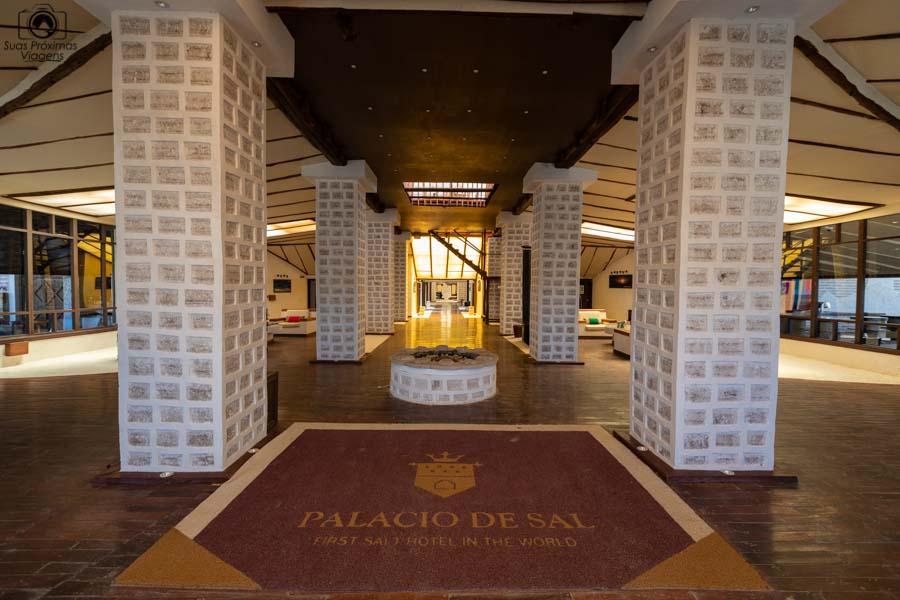 foto da entrada do Palácio de Sal
