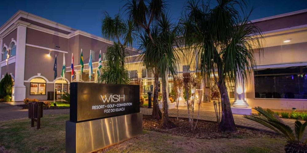 Foto da Fachada do Wish Resort em Foz do Iguaçu