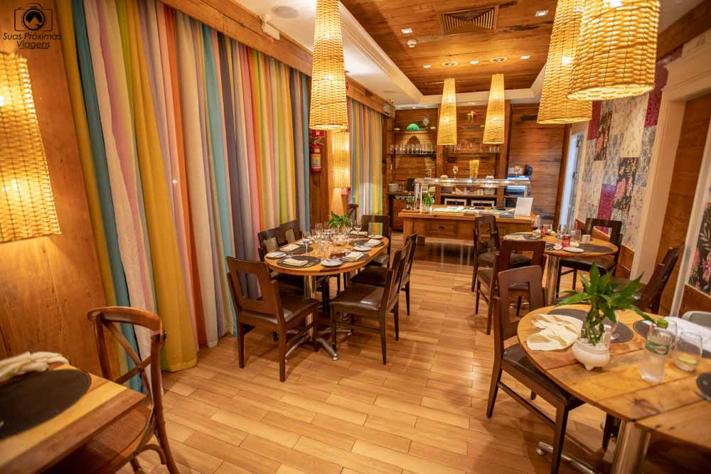 foto do restaurante italiano no Wish resort