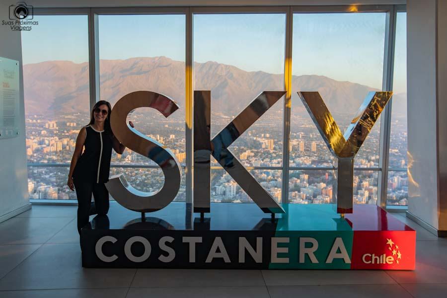Imagem do Painel do Sky Costanera