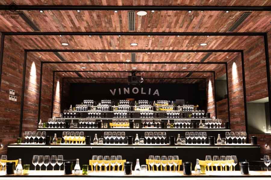 Imagem do auditorio do Vinolia em Santiago