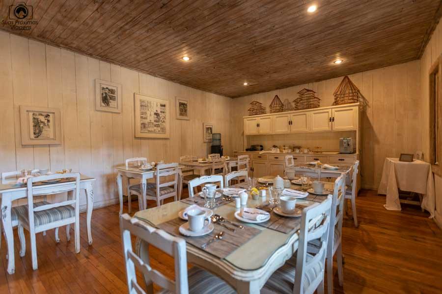 Imagem do café da manha no hotel casa silva no vale do colchagua