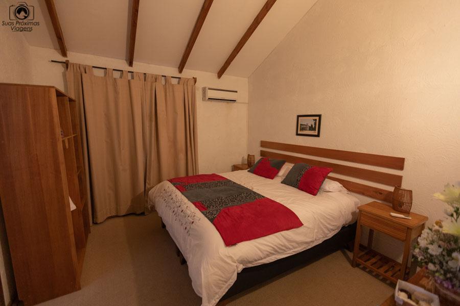 imagem do quarto do hotel parronales em valle de colchagua