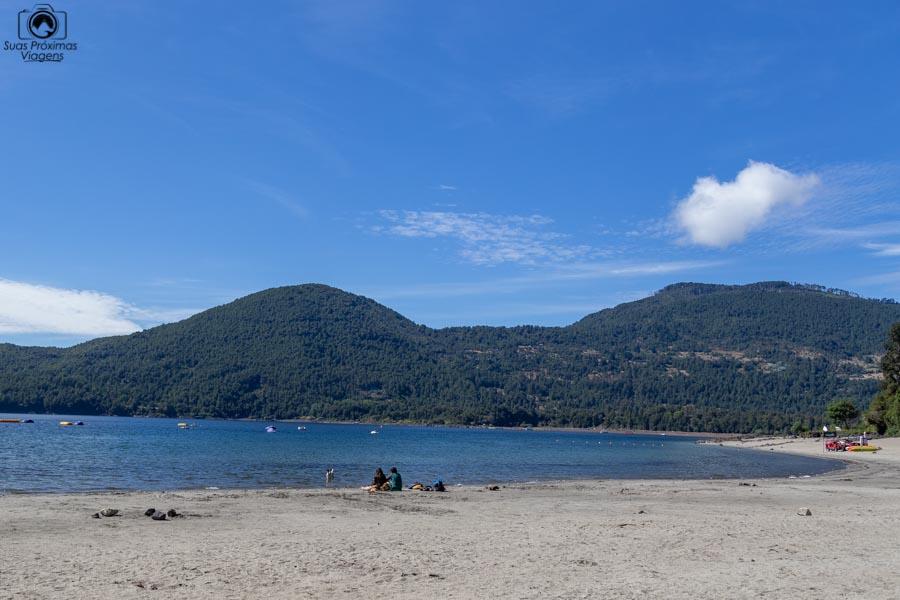 Imagem da Playa Blanca em Pucón Chile