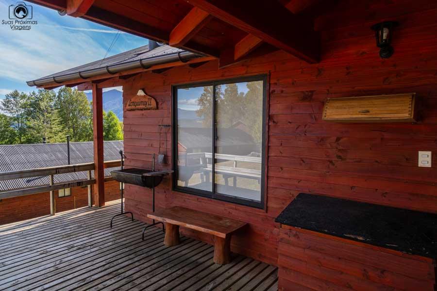 Imagem da cabana do Mirador Los Volcanes