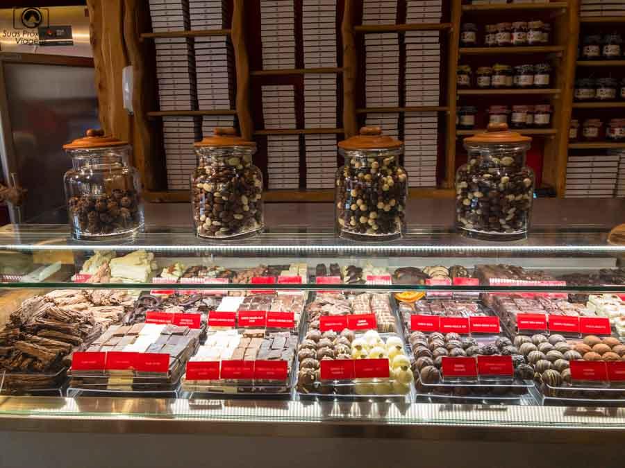 imagem dos doces do restaurante Cassis em Pucón