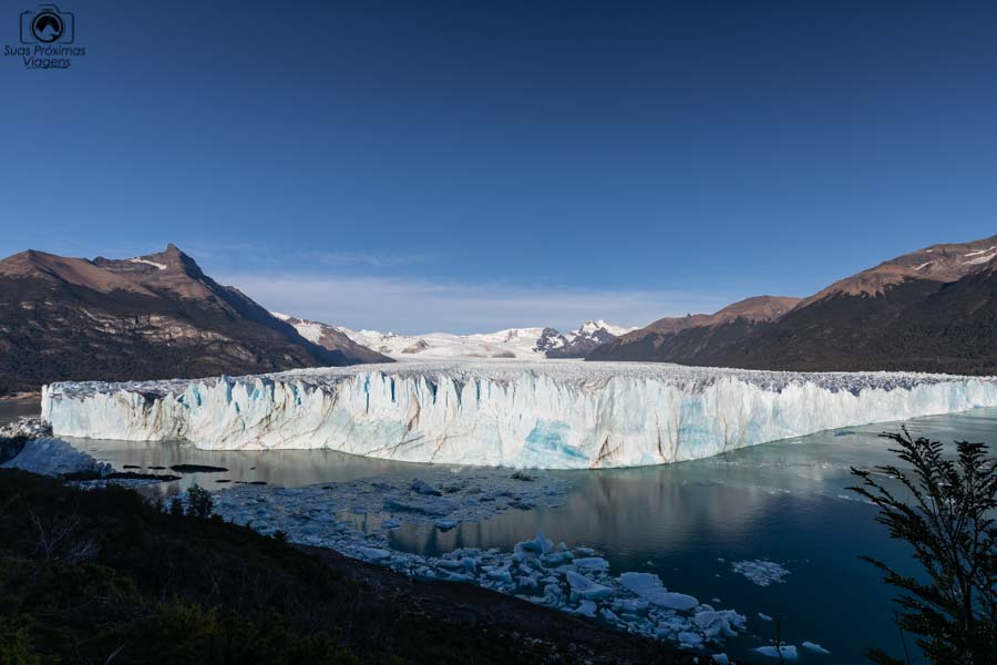 Imagem do Glaciar Perito Moreno em El Calafate