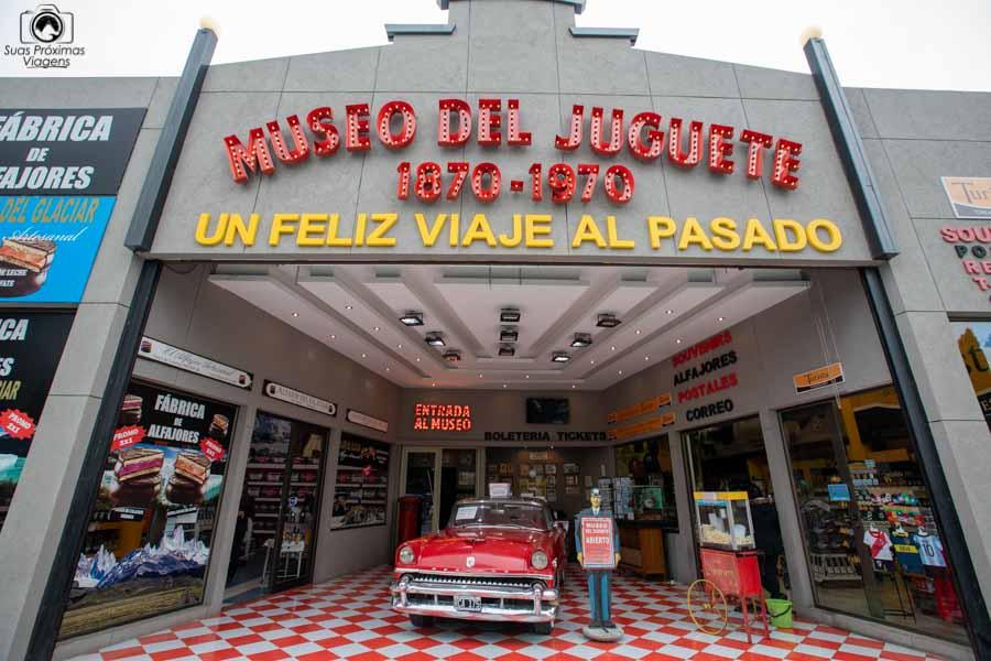 Imagem do Museo do Juguete ou museu do brinquedo em El Calafate