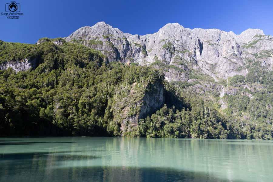 Imagem do Lago Frias em o que fazer em Bariloche