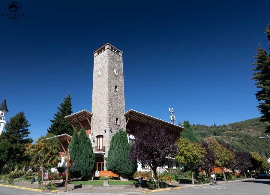 Imagem da Igreja de San Martin de los Andes