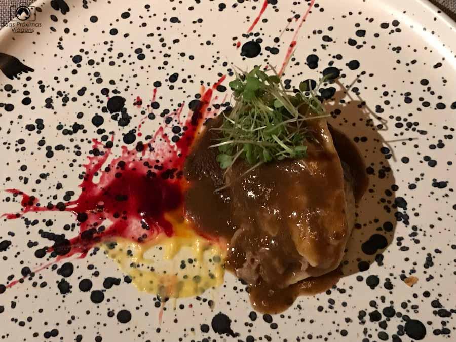 Imagem do Prato na Degustação do Restaurante Quiven em o que fazer em Bariloche