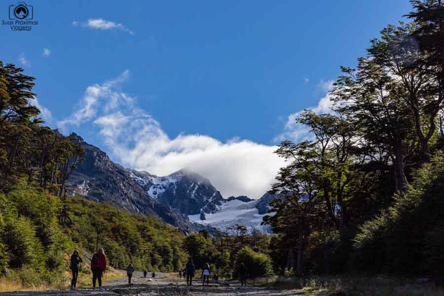 imagem do glaciar martial em o que fazer em Ushuaia