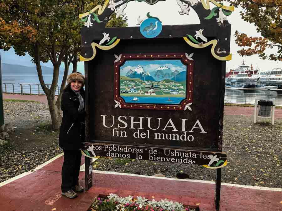 imagem do passeio pela cidade em o que fazer em Ushuaia