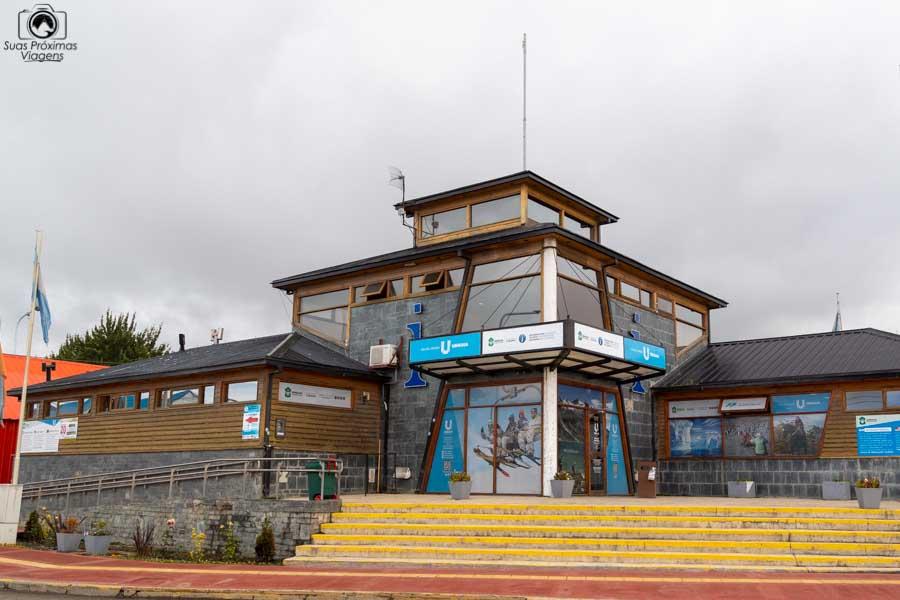 imagem do centro de informação no centro de ushuaia