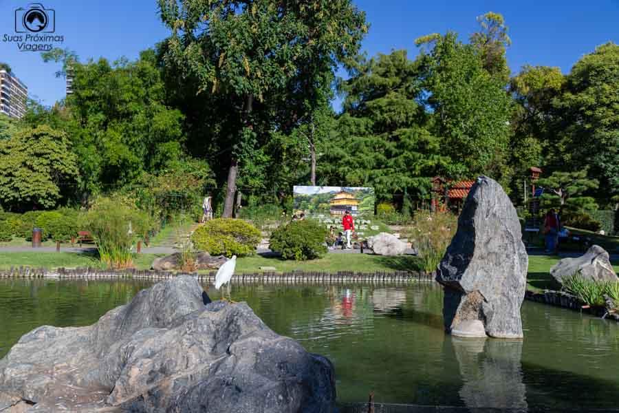 imagem do jardim japonês
