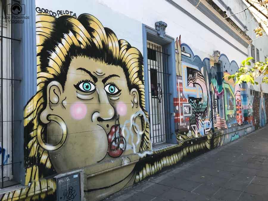 Imagem dos grafites em Palermo Soho em o que fazer em Buenos Aires
