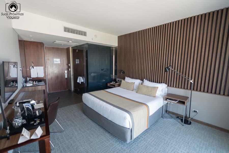 imagem da suite do cumbres vitacura em Santiago