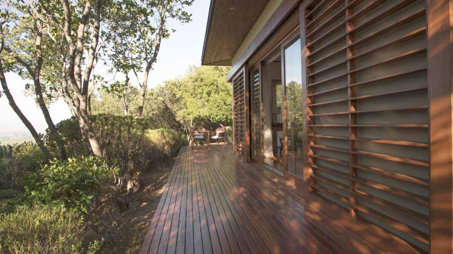 "Imagem da ""varanda da casita"" do hotel Clos Apalta Residence"