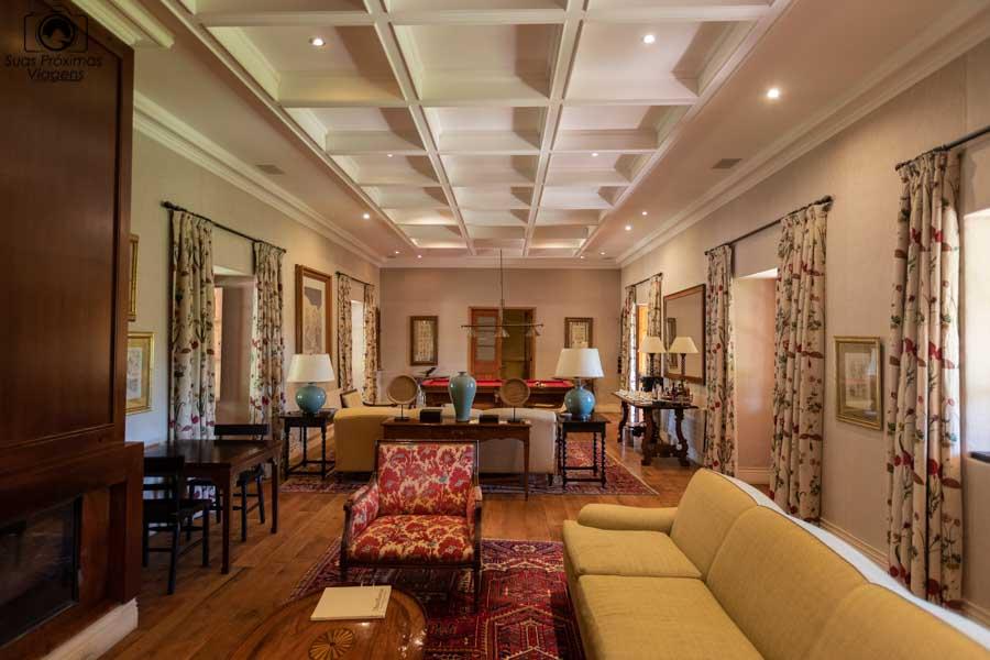 imagem da Sala de Estar do hotel La Casona