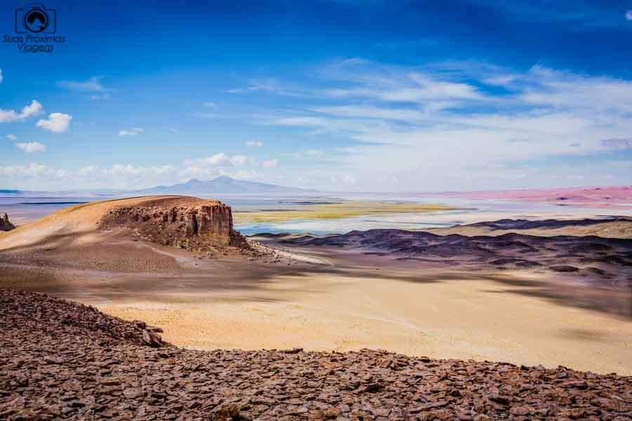 Imagem do Salar de Tara no Deserto do Atacama