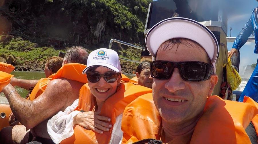 imagem nossa depois de encarar as cataratas do iguaçu - Secos