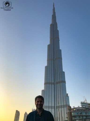 Imagem do Burj Khalifa em Dubai