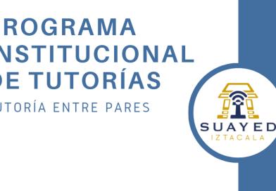 Convocatoria para tutor par: Programa Institucional de Tutorías