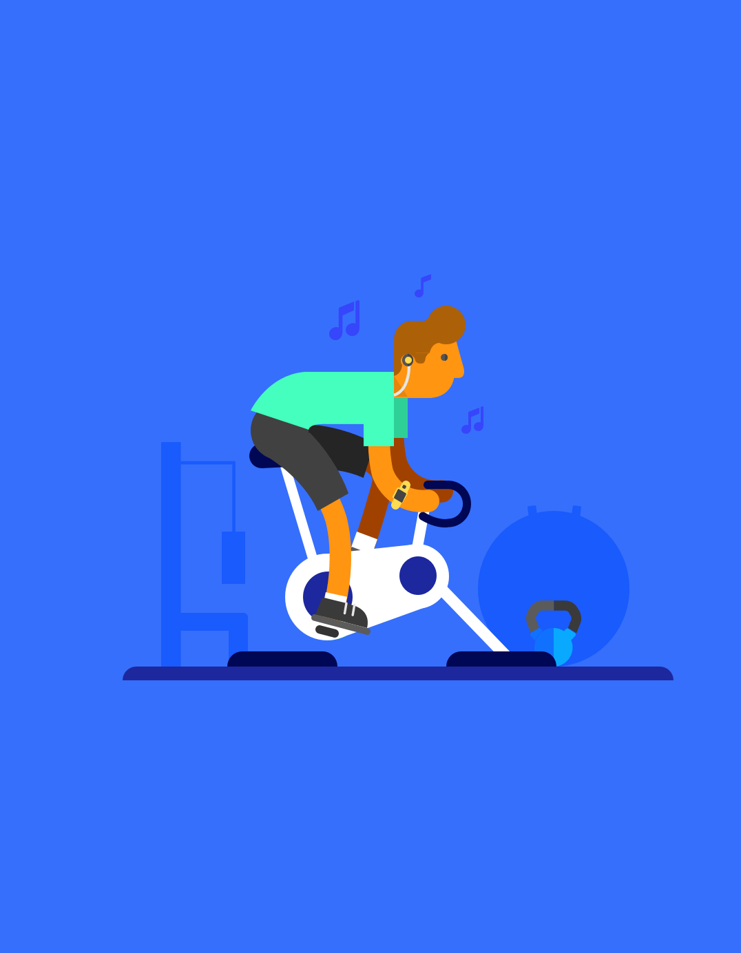 Fitness Illustrations