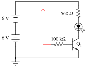 Transistor as a Switch | Discrete Semiconductor Circuits
