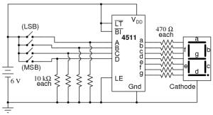 7segment Display   Digital Integrated Circuits