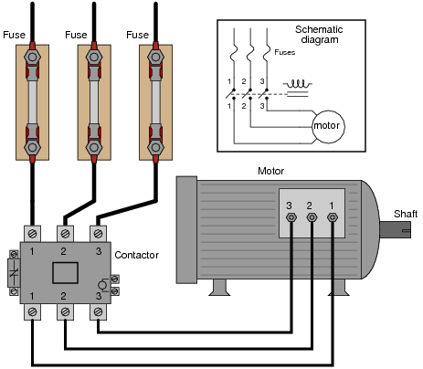 Wiring Diagram For 3 Phase Motor - Wiring Diagram 2017