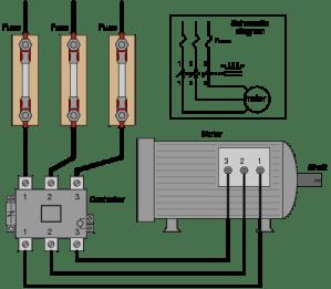 AC Motor Control Circuits | AC Electric Circuits Worksheets