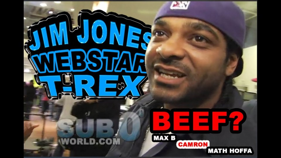 JIM JONES Speaks on MAX B, 50 CENT & CAMRON, WEBSTAR DIS MATH HOFFA!
