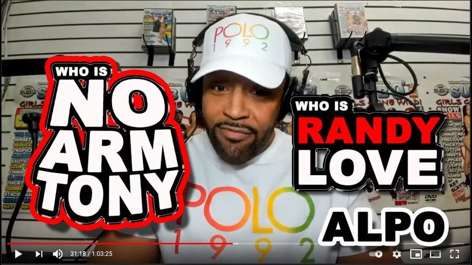 "Sub 0 Man tells you Who is the NO ARM TONY, RANDY LOVE and the CONNECTION to HARLEMS DRUG KING PIN ALBERTO ""ALPO"" MARTINEZ!"