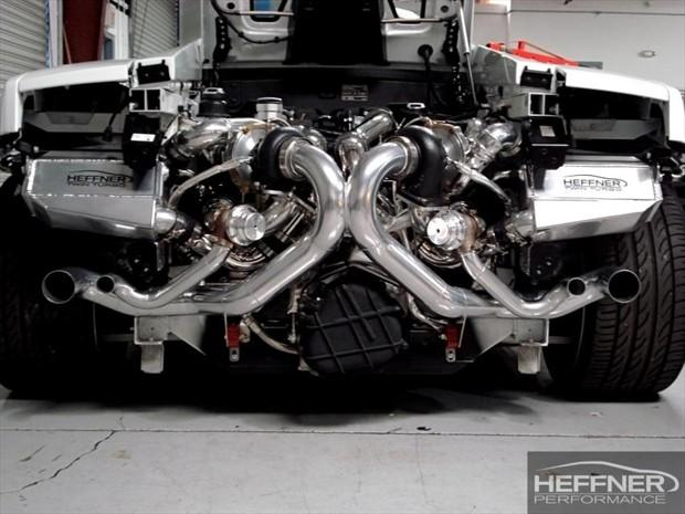 Lamborghini Gallardo Twin Turbo Engine