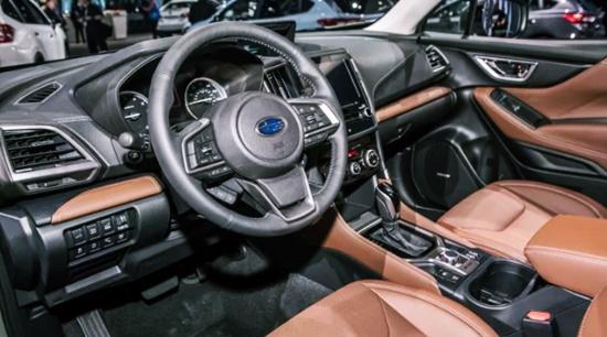2020 Subaru Forester Canada Interior