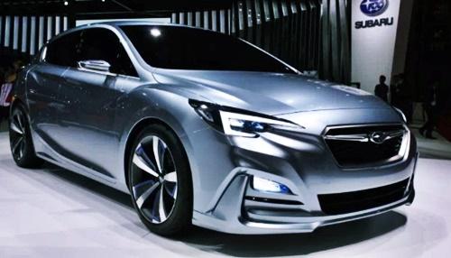 2020 Subaru Impreza Hatchback Redesign