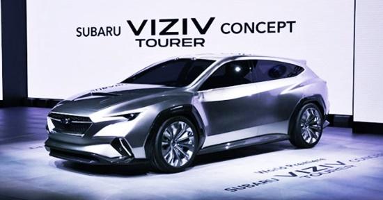 2020 Subaru Viziv Tourer Adrenaline Concept