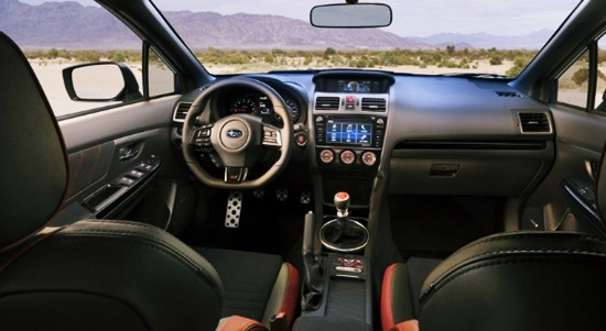 2020 Subaru Viziv Tourer Interior