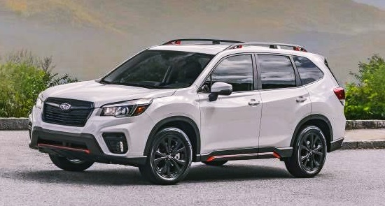 2021 Subaru Forester Sport Review, Colors